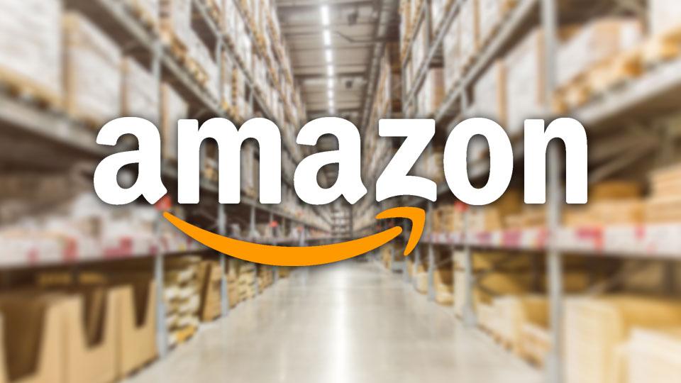 Amazon Logo, Warehouse, Generic