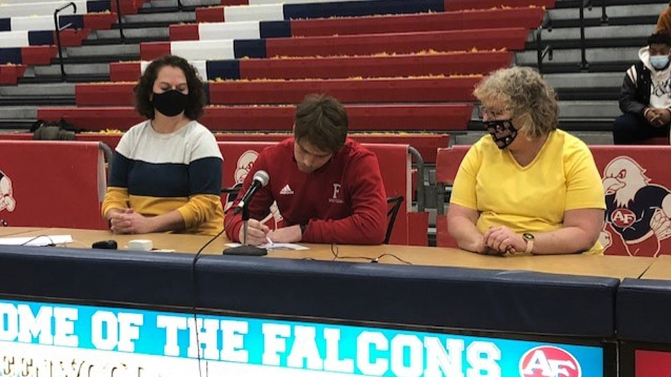 Austintown Fitch High School, Athlete signing college choice (1)