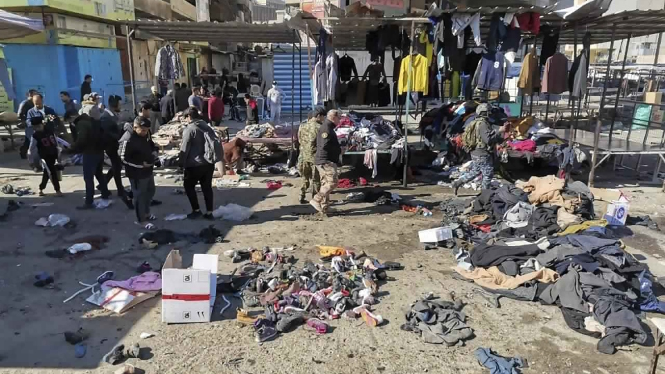 Baghdad, Iraq suicide bombers