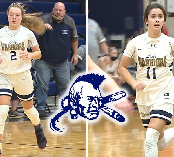 Audrey Reardon and Sophie Hook carried the Warriors down the stretch in a 71-66 win over the Leopards