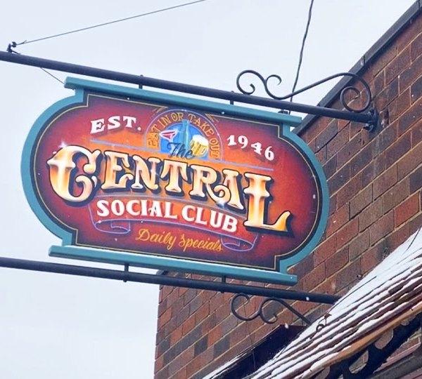 Central Social Club in Warren