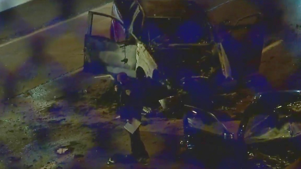 Deadly crash on Madison Avenue Expressway in Youngstown