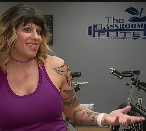 Deborah Caggiano, Austintown gym owner