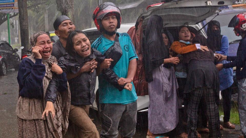 Earthquake, Indonesia