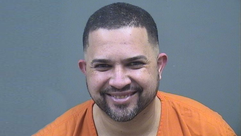 Francisco Negron, charged with aggravated menacing and domestic violence in Austintown