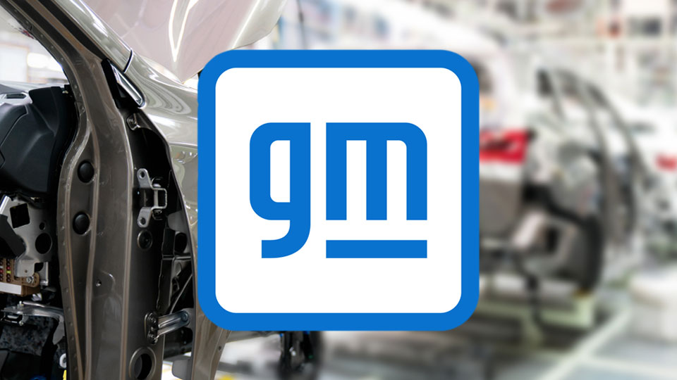 GM, General Motors, new logo design