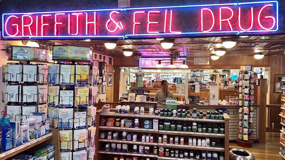Griffith and Feil pharmacy Kenova, West Virginia