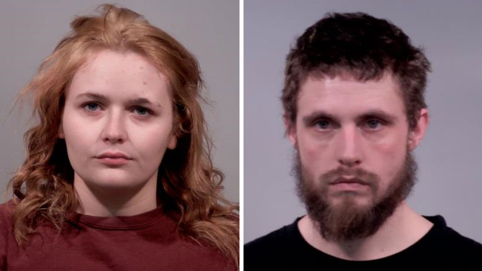 Hayleigh Yoak, charged with possession of drugs and having weapons under disability, Michael Tedrick, having weapons under disability and receiving stolen property