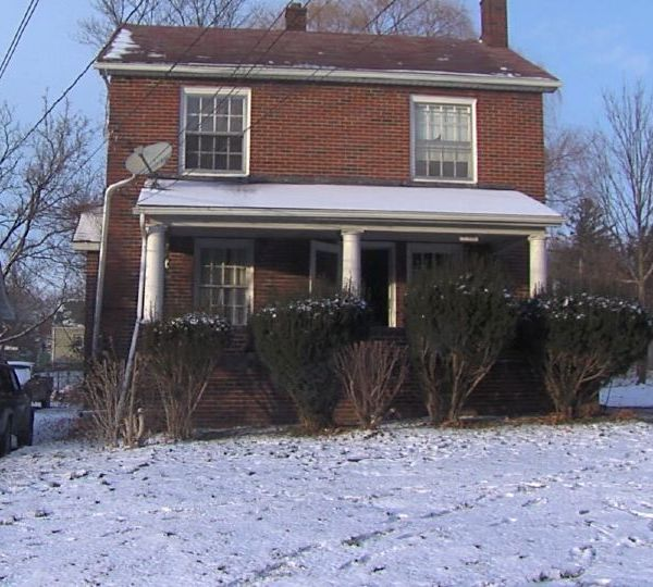 Multiple police units converged Wednesday on a house in Youngstown.
