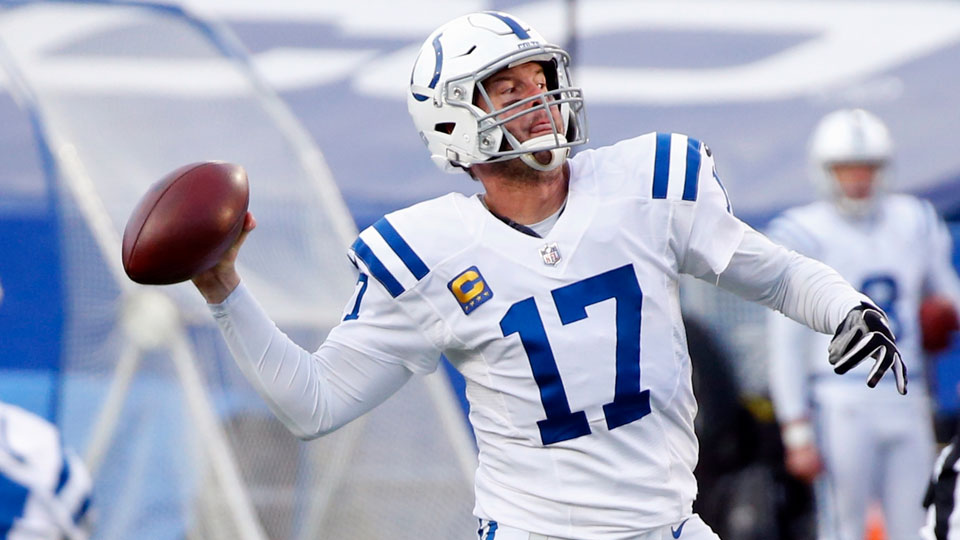 Indianapolis Colts' Philip Rivers (17)