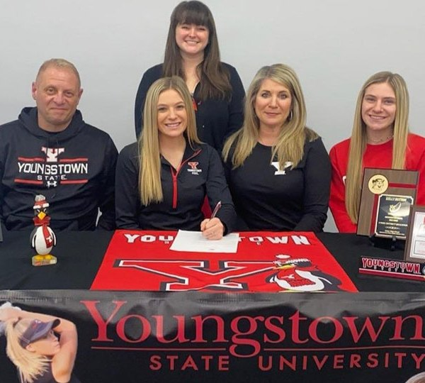 Kelly Hutton, Youngstown State University (YSU) commit