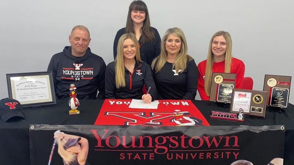 Kelly Hutton, Youngstown State University (YSU) commit