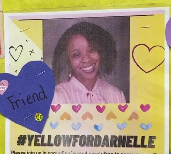 Principal Jessica Kohler and elementary school staff in Liberty are hoping to paint the town yellow for #YELLOWFORDARNELLE to support beloved first-grade teacher Darnelle Clark as she recovers from COVID-19.