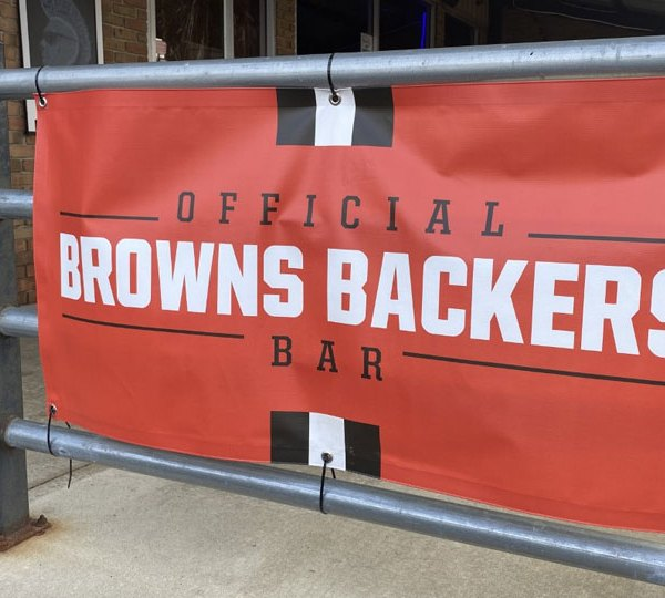 Local Browns Backers bars are preparing for the Sunday afternoon game