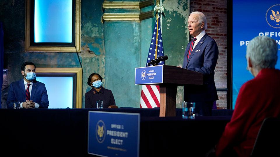 President-elect Joe Biden announces final cabinet members
