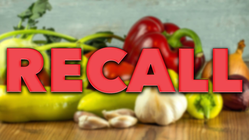 Recall: Cafe 422's hot peppers