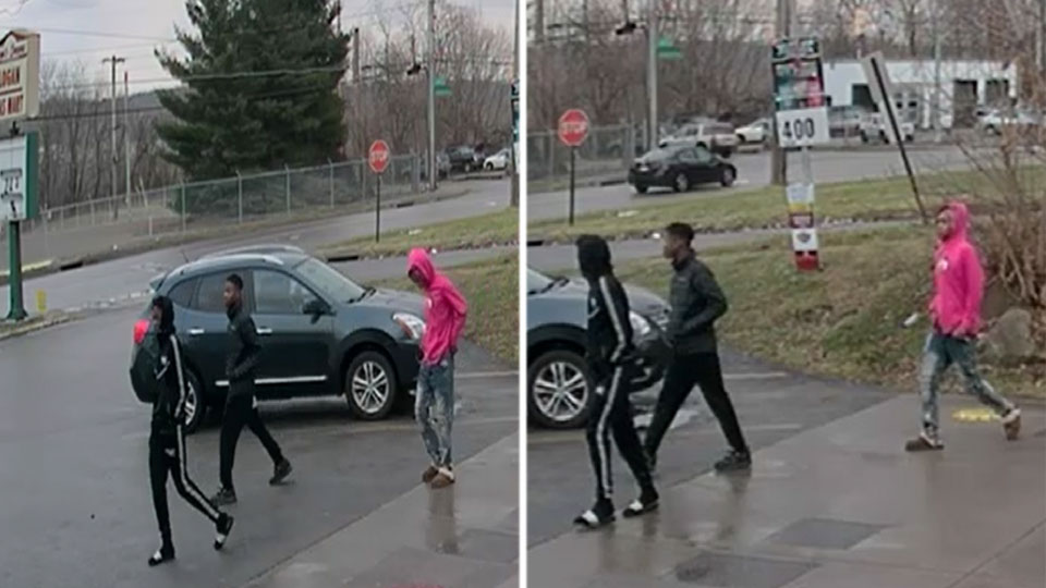 Robbery suspects from Saranac Avenue