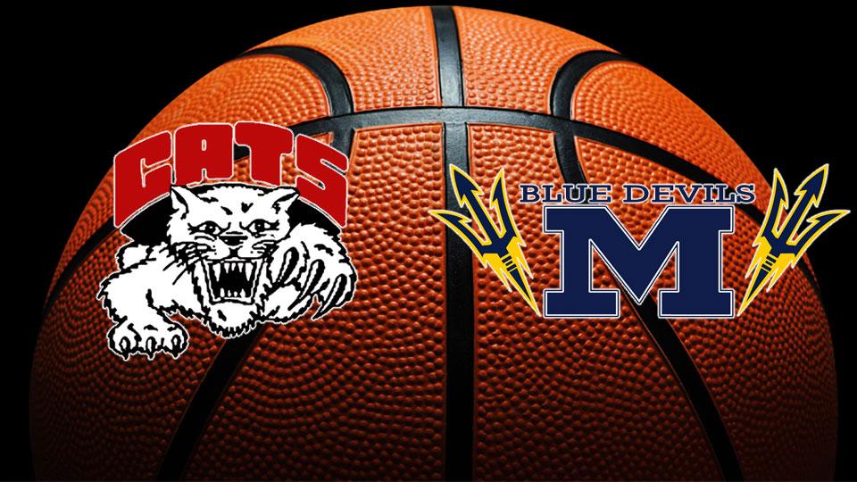 Struthers Wildcats, McDonald Blue Devils, High School Basketball