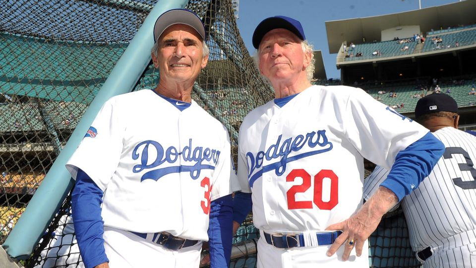 Don Sutton, a Hall of Fame pitcher who was a stalwart of the Los Angeles Dodgers' rotation spanning an era from Sandy Koufax to Fernando Valenzuela, died Tuesday. He was 75.
