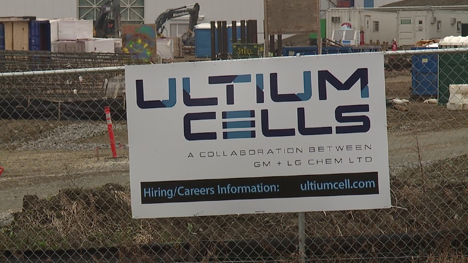 Ultium Cells, Lordstown