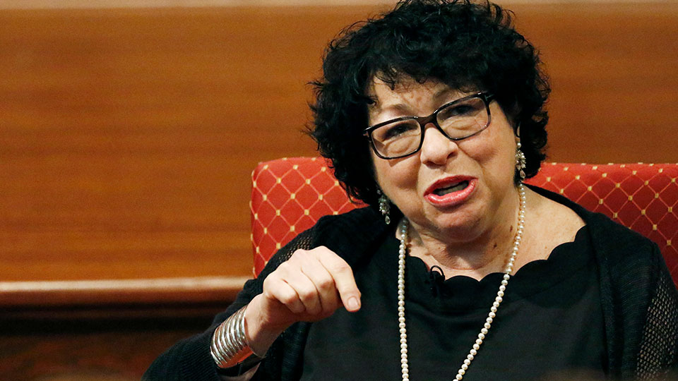 U. S. Supreme Court Associate Justice Sonia Sotomayor