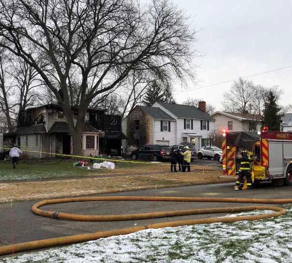 Warren fatal fire Woodland Street New Year's Day
