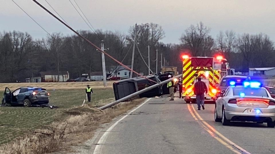 Warren Township, Kibler Toot Road crash