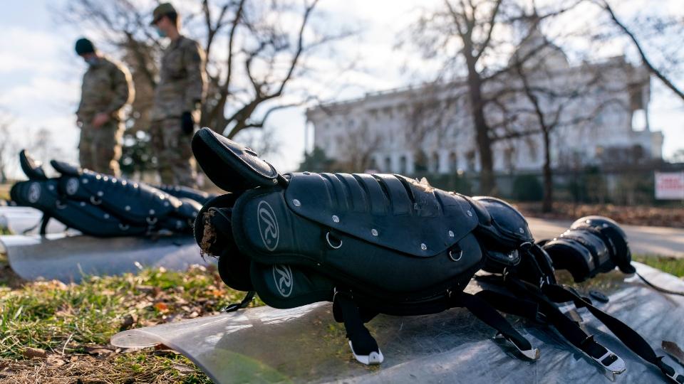 Washington, D.C. security ahead of inauguration