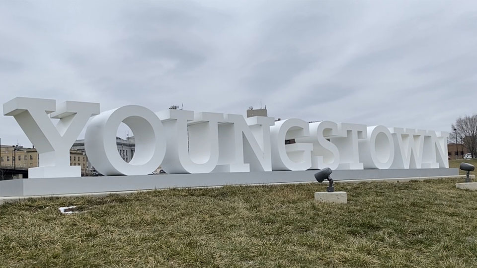 Youngstown Sign, local tourism