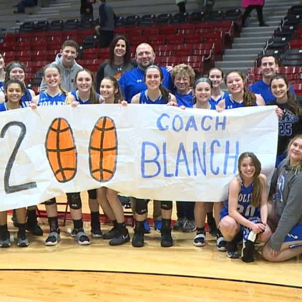The Bulldogs celebrated in style Wednesday, helping their coach reach an impressive milestone
