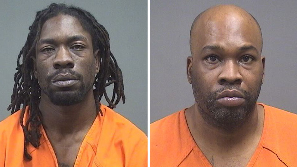 Anthony Bonner and Robert Jeter, facing federal firearms charges.