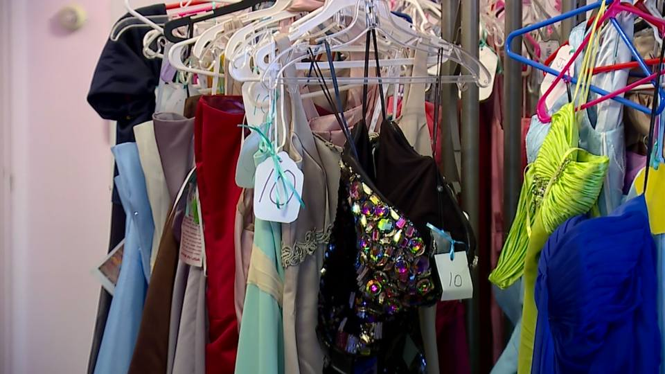 Master's Touch Healing and Training Center in Canfield opened their doors Saturday afternoon to the public to give away over 700 dresses.