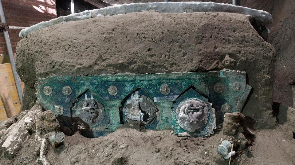 Ceremonial chariot Pompeii