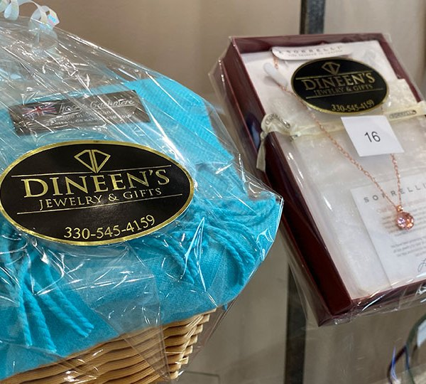 Dineen's Jewelry and Gifts basket raffle