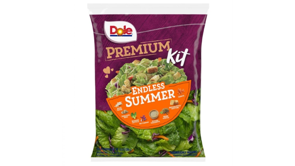 Dole salad kit recall