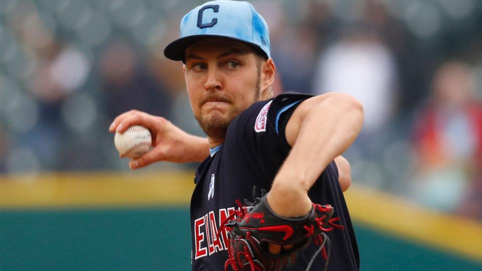 Former Cleveland Indians pitcher Trevor Bauer
