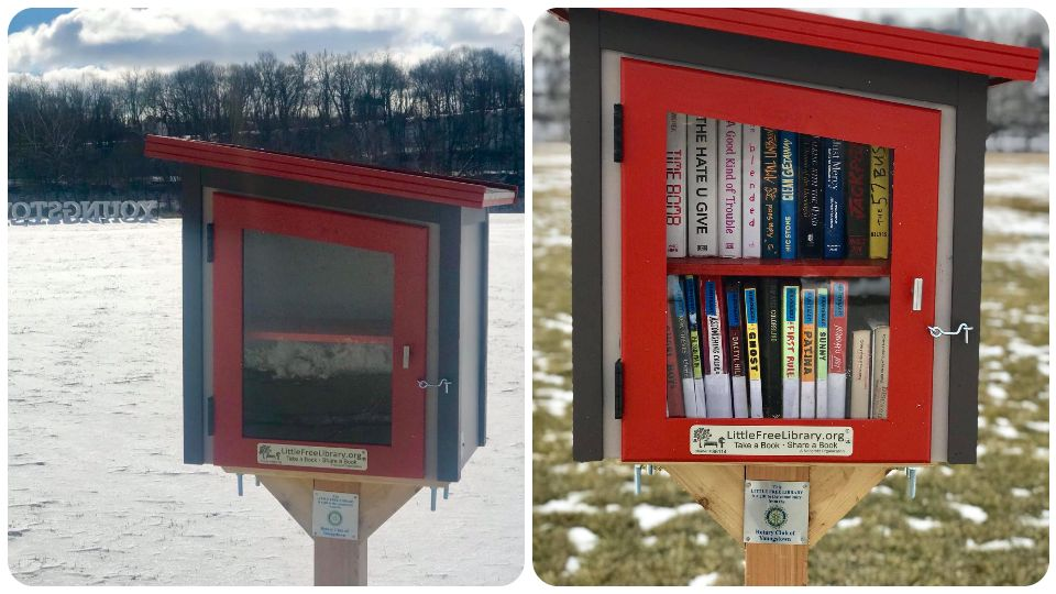 The Rotary Club of Youngstown and the Public Library of Youngstown and Mahoning County have teamed up to provided a Little Free Library in Youngstown.