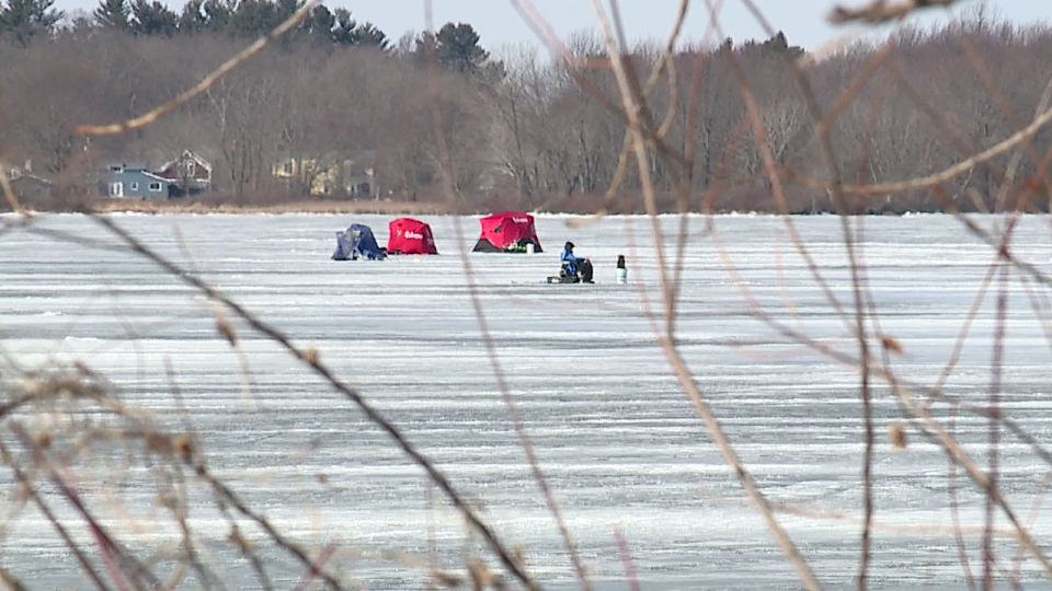 As the conditions begin warming up again, first responders are warning about the dangers of ice-fishing on area lakes and waterways.