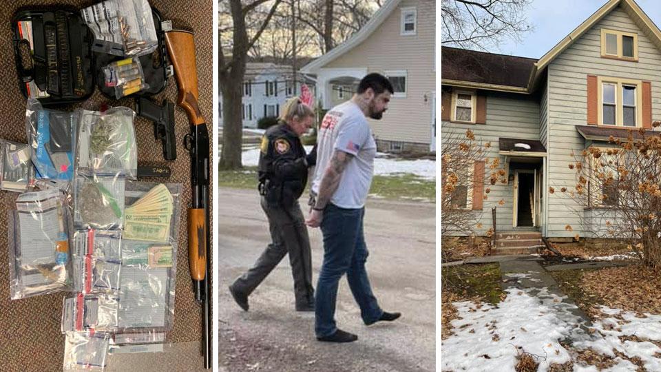 Salem Drug Raid