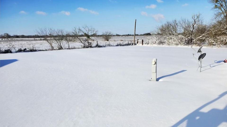 Salem man in Texas winter storm