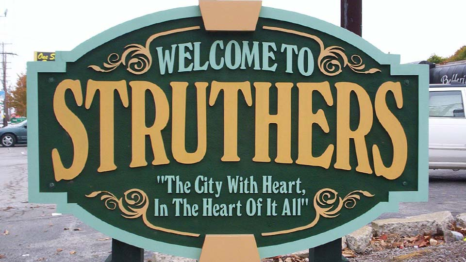 Struthers Sign