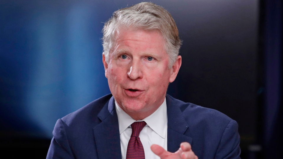 In this May 10, 2018, file photo, Manhattan District Attorney Cyrus R. Vance, Jr., responds to a question during a news conference in New York.