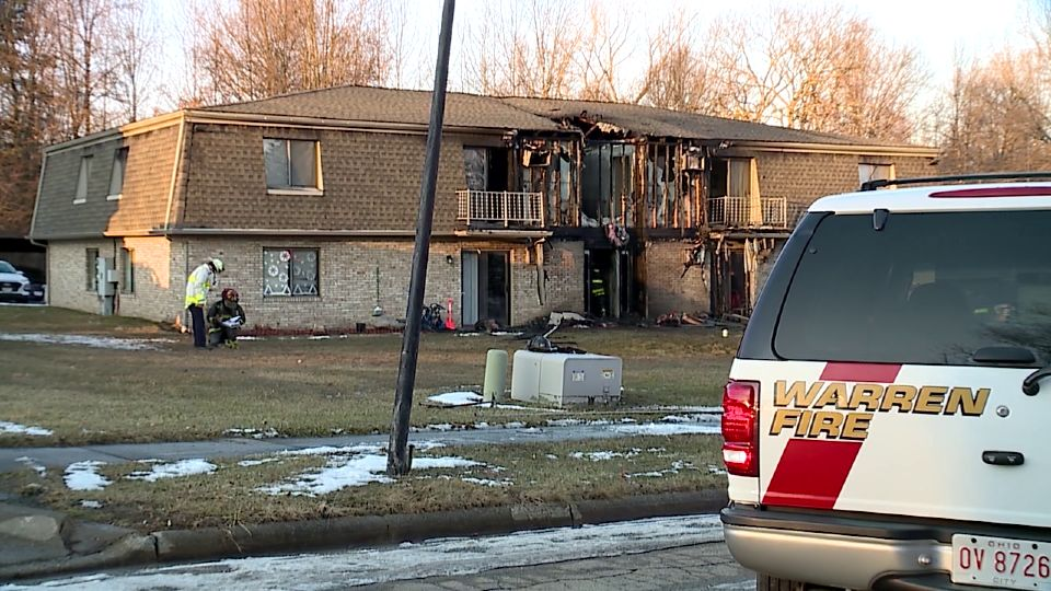 Careless smoking could be to blame for a fire in Warren Tuesday.