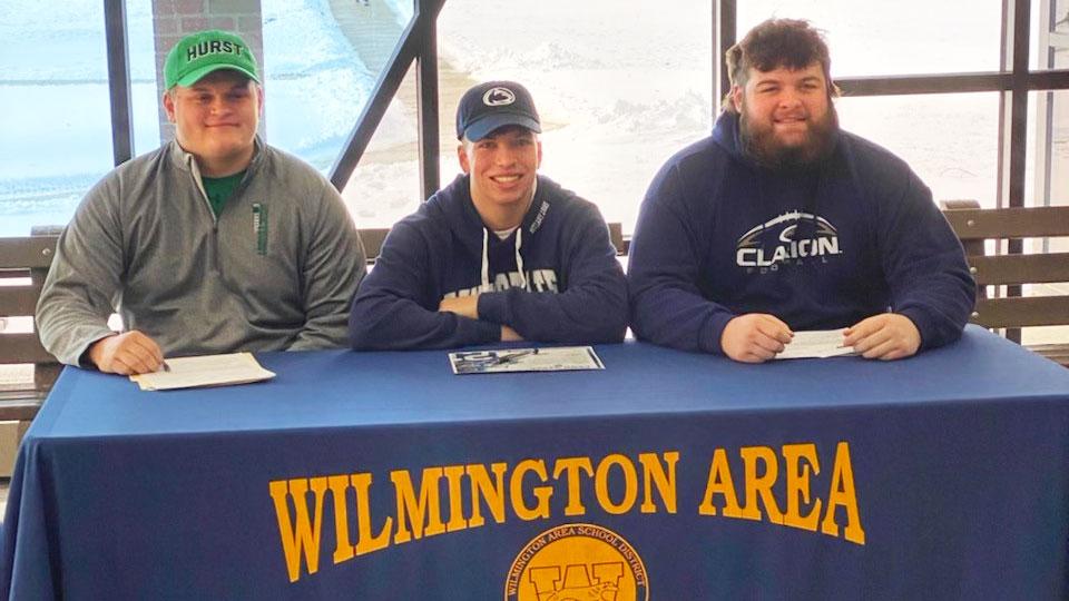Wilmington football signing