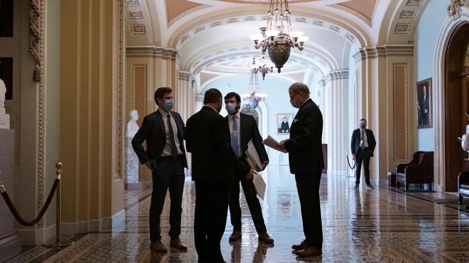 Dems strike jobless aid deal
