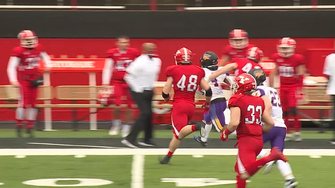 Watch: YSU assistant coach disciplined after sideline hit - WKBN.com