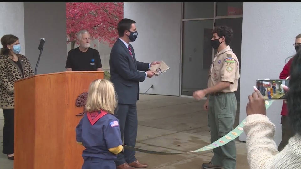Boy Scouts, Howland museum attraction