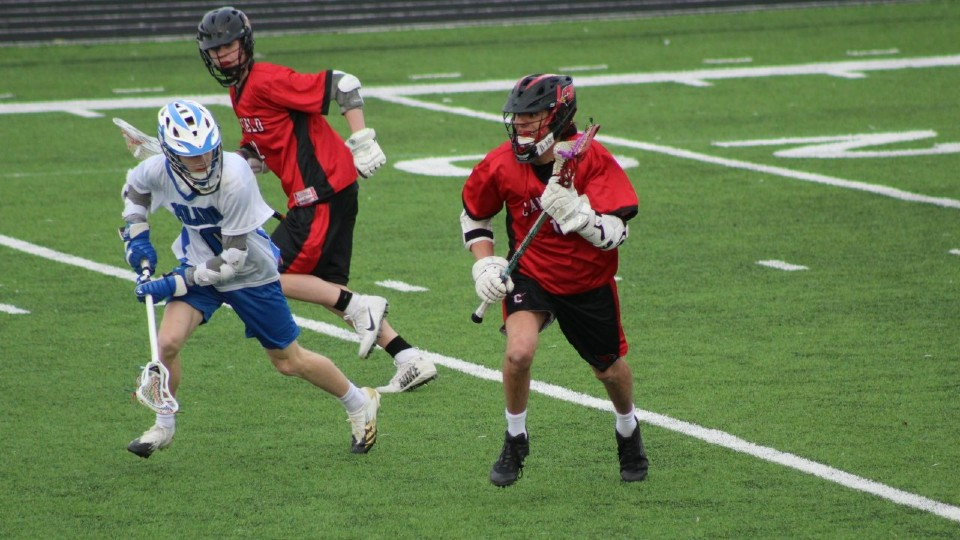 Canfield lacrosse team
