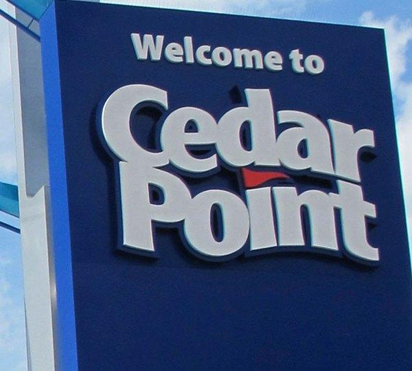 Cedar Point Sign, Logo, generic