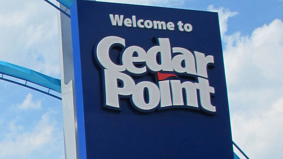 Cedar Point Sign, Logo, generic